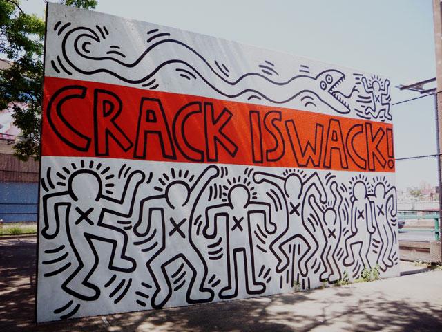Crack is wack desperately seeking mamma biscuit for Crack is wack mural